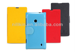 For Nokia Lumia 520 NILLKIN Fresh Two Mobile Phones Leather Case