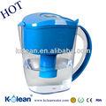 eliminar las sustancias nocivas y el bpa libre alcalinas filtro de agua jarra
