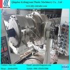 Large diamater HDPE/MDPE fuel gas water service pipe manufacturing machines
