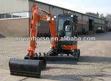 Zx35u-2 mini escavatore terne hitachi escavatore idraulico cingolato