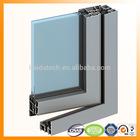 windows and doors construction usage extrusion aluminium profile
