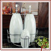 Best Selling Cheap Porcelain Ceramic Oil Bottle Oil and Vinegar Bottle