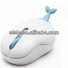 Cute animal shape wireless computer mouse
