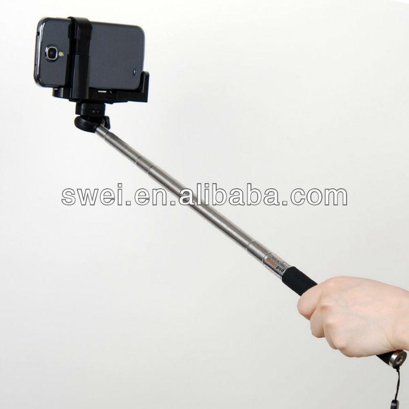 extensible mano monopod selfie stick polo varilla para c maras compactas. Black Bedroom Furniture Sets. Home Design Ideas