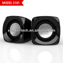Trend style digital box speaker sound system for notebook pc