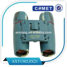 Magnification:8X; 8X21 Fold binoculars /mini binoculars/pocket binoculars