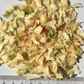 Cebola fatia desidratados branco cebola picada