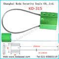 Autoblocantes Cable de seguridad sello de plomo KD-315 Cable de seguridad