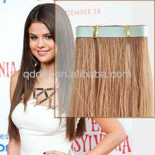 Wholesale Top Quality Brazilian Virgin Tape Hair Skin Weft