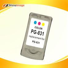 Remanufactured for Canon inkjet cartridge PG831 PIXMA IP1180 IP1880 IP1980 IP2580