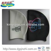silicone swimming caps,silicone ear swim cap,swimming silicone cap