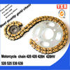 Motorcycle chain,motorcycle chain and sprocket,Top quality and cheap sell best motorcycle chain