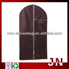 Non Logo Non Woven Garment Bag With Zipper, Customized Made Recycle Promotion Shopping Bags