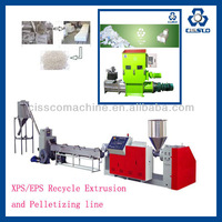 EPS,XPS RECYCLIE EXTRUSION AND GRANULATING MACHINE,EPS XPS FOAM RECYCLING AND GRANULATING EXTRUSION MACHINE