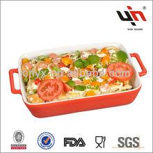 2013 Hot selling ceramic Bakeware set, Oven safe bakeware