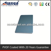 PPG and BECKER pvdf aluminum sign panel