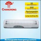 portable 2*8W rechargeable emergency fluorescent tube lantern