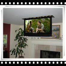"30"" sumsang tv 24 v electric motor LCD remote tv lift hidden tv cabinet"