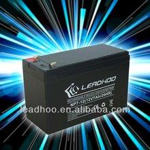 good discharge backup/ alarm battery 12v alarm system