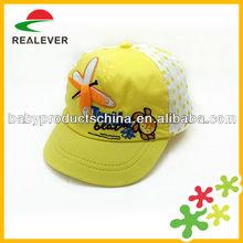 Wholesale cotton Kids Fashion baby hat snapback cap