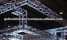 2012 hot sale Aluminum bolt truss dj lightng truss