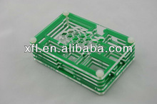 Portable Green Raspberry Pi case, Raspberry Pi acrylic box, computer case