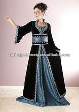 Luxurious Women's Fashionable European Designer Kaftan 2013
