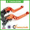 CNC Billet Aluminum alloy adjustable brake and clutch lever for YBR125