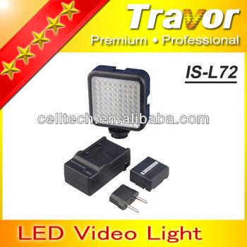 New design IS-L72 led ring light