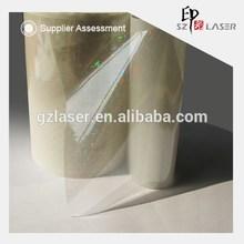 Hologram transparent color plastic film supplies for gift packaging