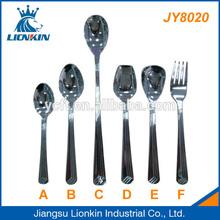 JY8020 bulk metal spoons