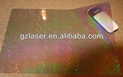 Hologram polyester hot melt adhesive glue backing film