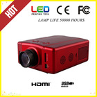mini projector/ beamer/proyector for home theater and games