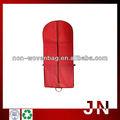 Foldable design longo vestido não tecido sacos, moda de vestuário não tecido sacos