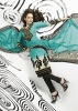 Fashion Boutique Ladies Gala Printed Stylish Salwar Kamiz Suits 2013