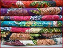 wholesale jaipur quilts, Indian vintage kantha quilts, Handmade kantha quilts wholesale price offer