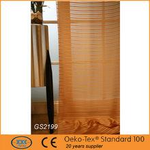 Polyester Sheer Window Curtain small door window curtain