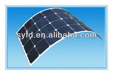 Semi Flexible monocrystalline silicon Solar Panel with High Efficiency SunPower cells