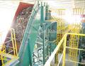 Los residuos sólidos urbanos de la planta de clasificación/derivados se niegan los productos reutilizables