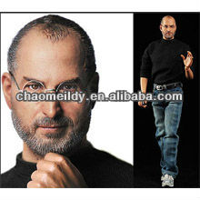 action figure manufacturer, polyresin steve jobs, Resin super star figures.