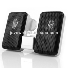 iPhone travel folder mini hifi travel speaker can also be used with mp3,4, PC