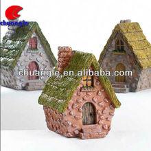 House Model, Garden House,Resin House Figure