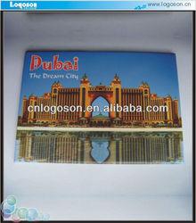 custom picture collectible dubai souvenirs fridge magnet making machine