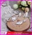 artículos de boda conjuntos de joyas de las hojas de uva fs493