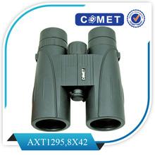 AX1141 Binoculars;10X42(8X42) BAK4 All Multi-layer Coating Middle Axle Focusing Waterproof Binoculars