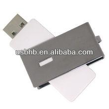 mini custom swivel metal USB flash drives bullet
