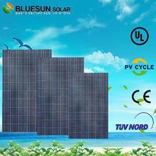 Bluesun TUV UL CE certificate poly cis solar panel