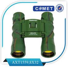 AX1521;binoculars 8X32;binocular;Magnification:8X;Objective Lens Diameter:25mm;Prism type: Porro