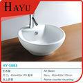 hy5883 круглый дизайн керамическая ванная встречной верхней части бассейна