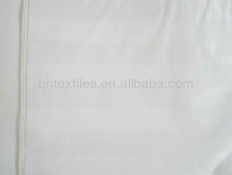 100% algodão tecido branco de fabricação na china